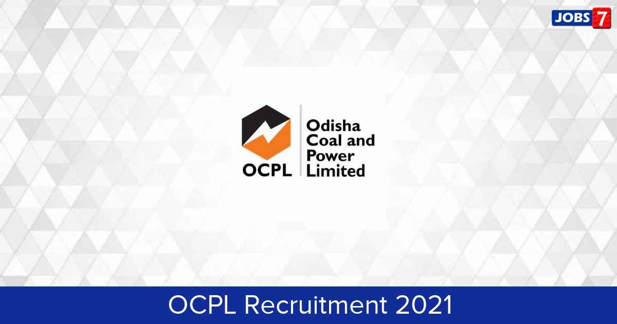 OCPL Recruitment 2021: 8 Jobs in OCPL | Apply @ www.ocpl.org.in