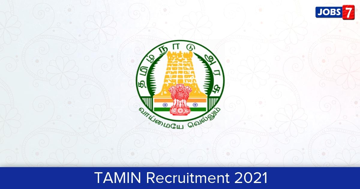 TAMIN Recruitment 2021:  Jobs in TAMIN | Apply @ tamingranites.com