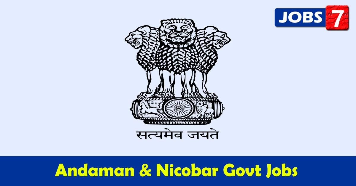 Andaman and Nicobar Islands Govt Jobs 2021 - 33318 Job Vacancies