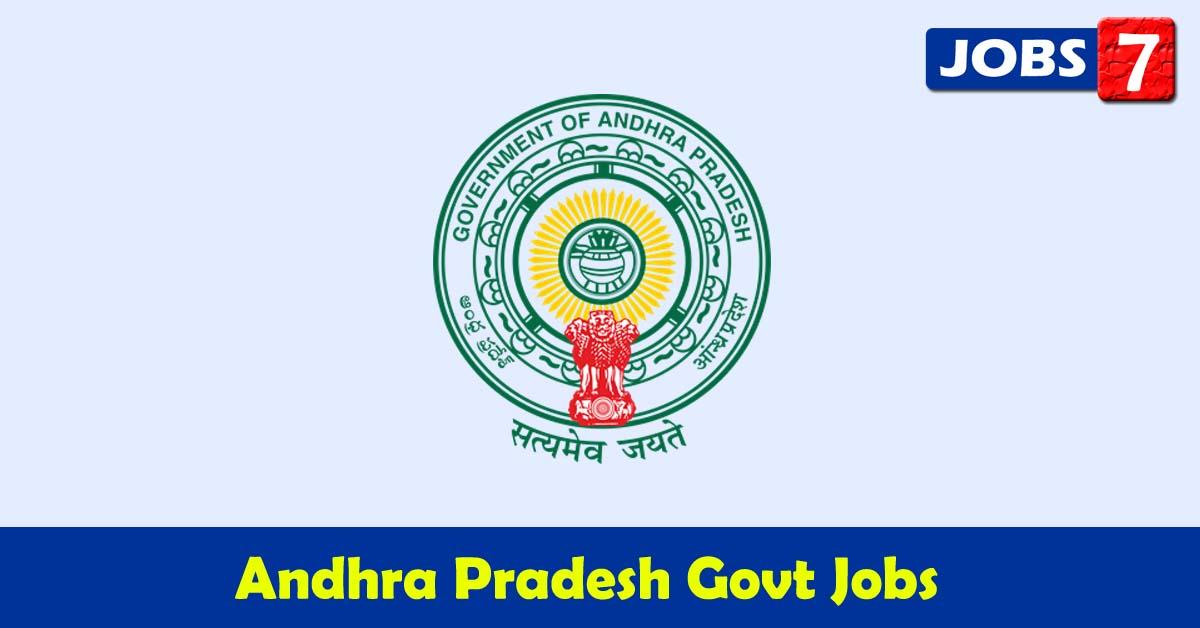 Andhra Pradesh Govt Jobs 2021 - 10839 Job Vacancies