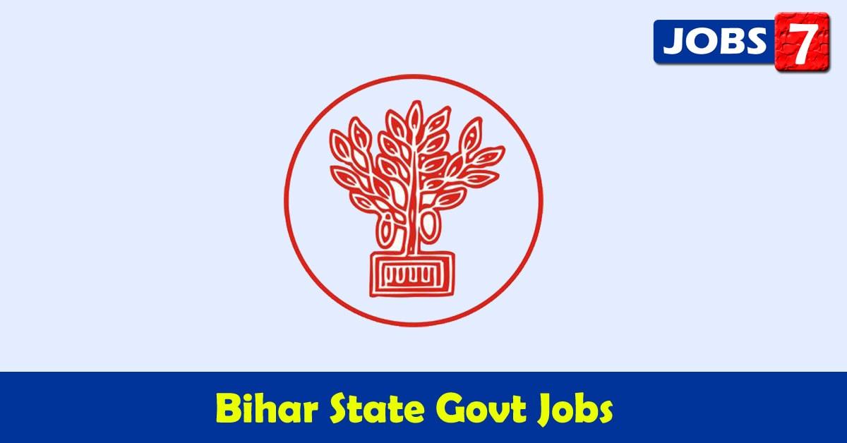 Bihar Govt Jobs 2021 - 20451 Job Vacancies