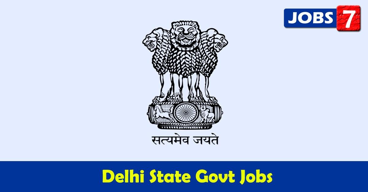 Delhi Govt Jobs 2021 - 16178 Job Vacancies