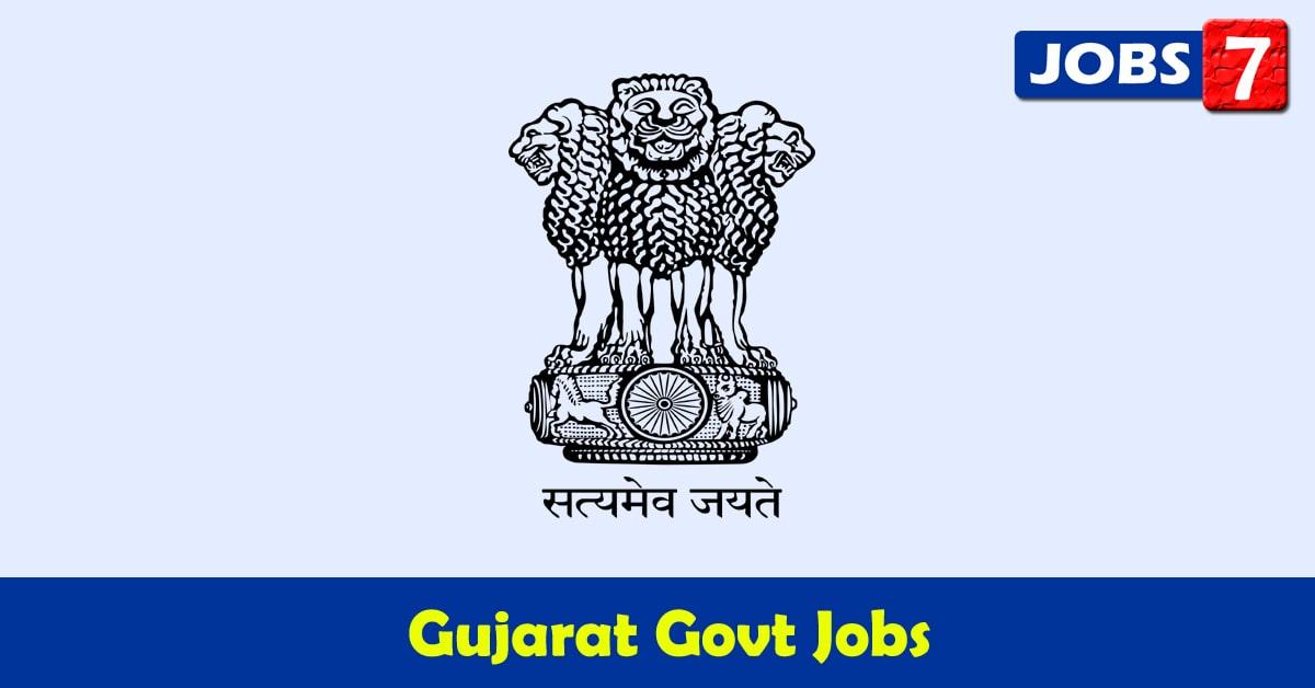 Gujarat Govt Jobs 2021 - 10469 Job Vacancies