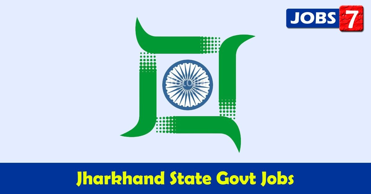 Jharkhand Govt Jobs 2021 - 10517 Job Vacancies