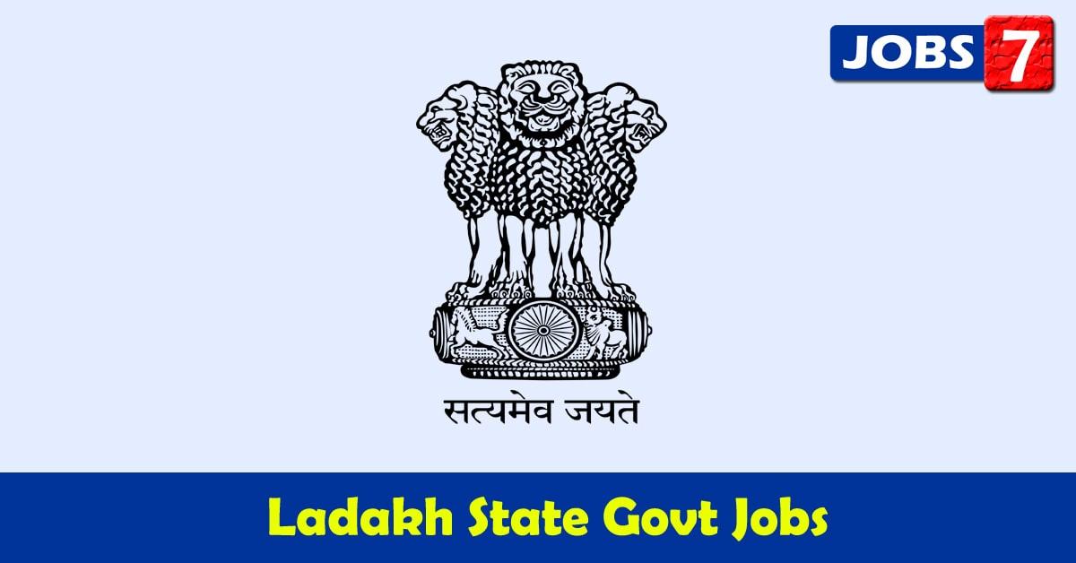 Ladakh Govt Jobs 2021 - 33318 Job Vacancies
