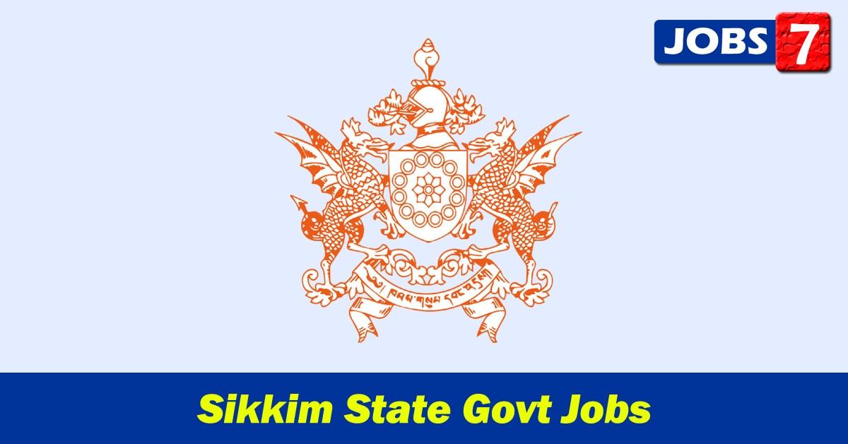 Sikkim Govt Jobs 2021 - 33340 Job Vacancies