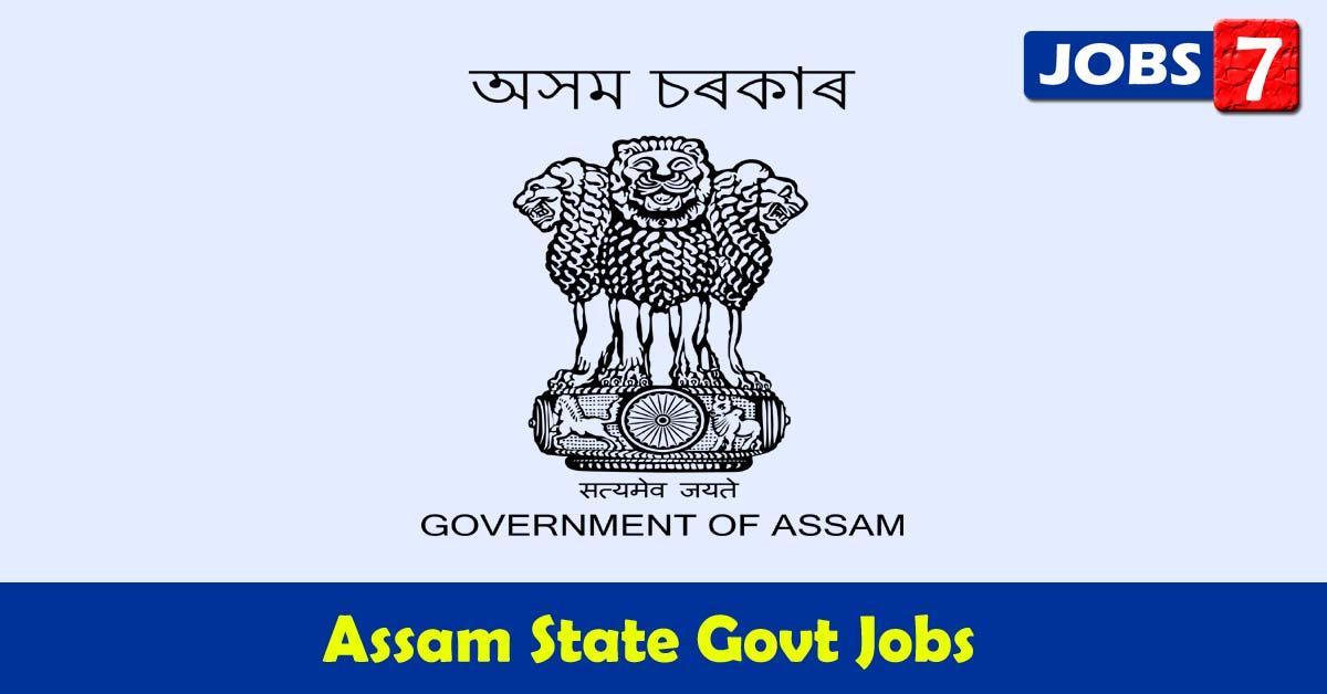 Assam Govt Jobs 2021 - 4515 Job Vacancies