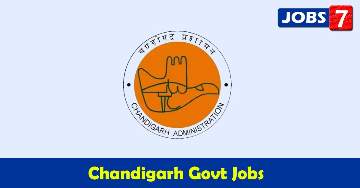 Chandigarh Govt Jobs 2020 - 5350 Job Vacancies