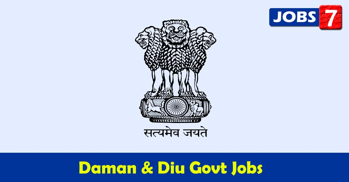 Daman and Diu Govt Jobs 2020 - 18867 Job Vacancies