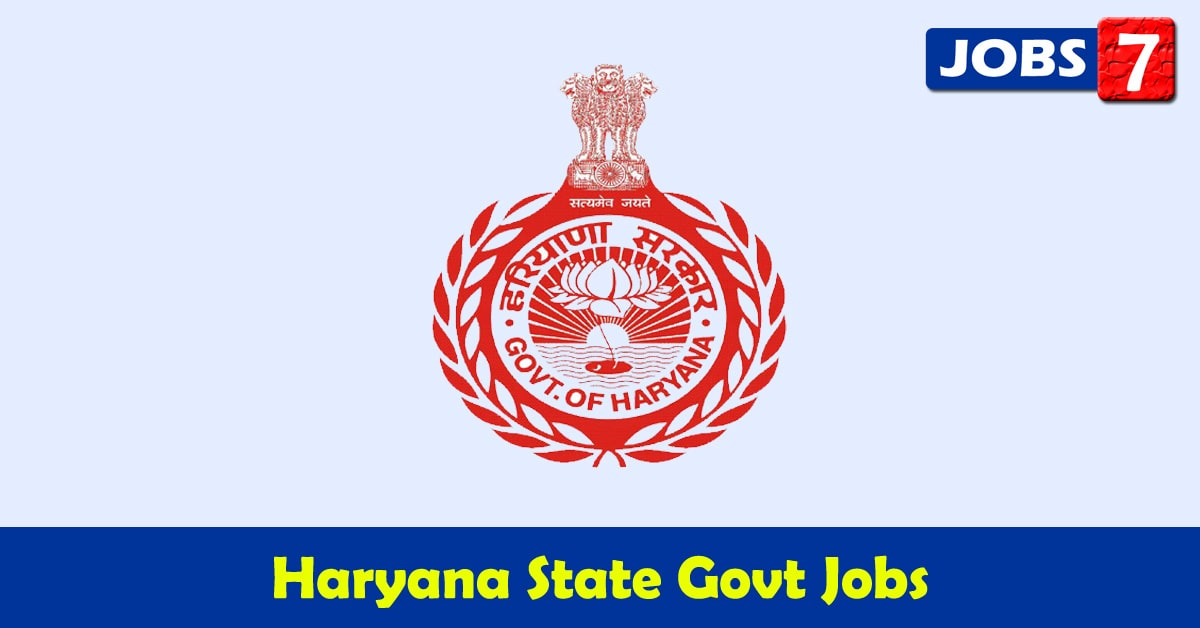 Haryana Govt Jobs 2020 - 27141 Job Vacancies