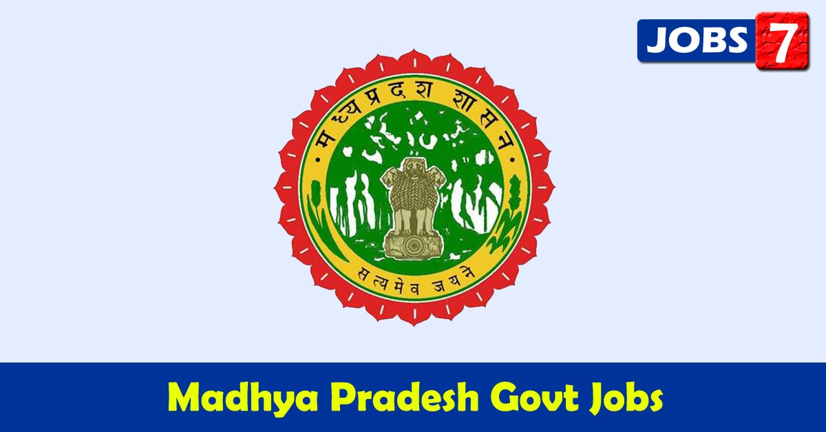 Madhya Pradesh Govt Jobs 2020 - 20066 Job Vacancies
