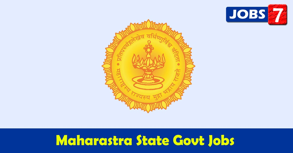 Maharashtra Govt Jobs 2020 - 9407 Job Vacancies
