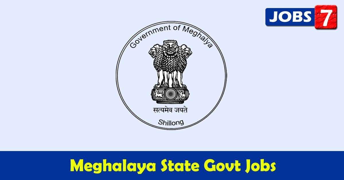 Meghalaya Govt Jobs 2021 - 3897 Job Vacancies