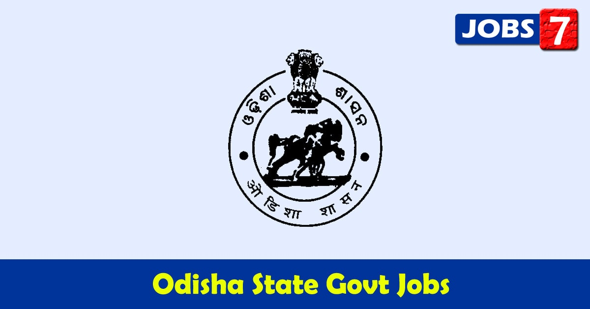 Odisha Govt Jobs 2020 - 5089 Job Vacancies