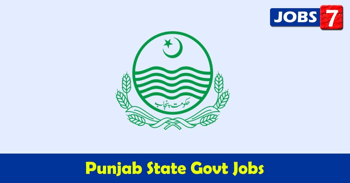 Punjab Govt Jobs 2020 - 5704 Job Vacancies