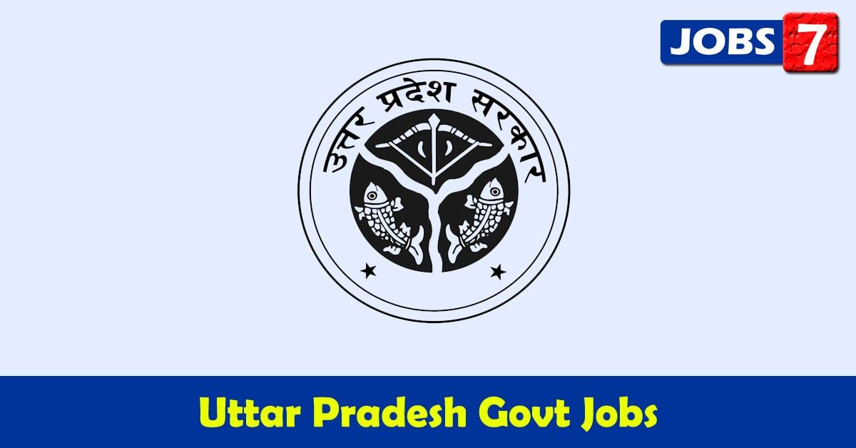 Uttar Pradesh Govt Jobs 2021 - 32166 Job Vacancies