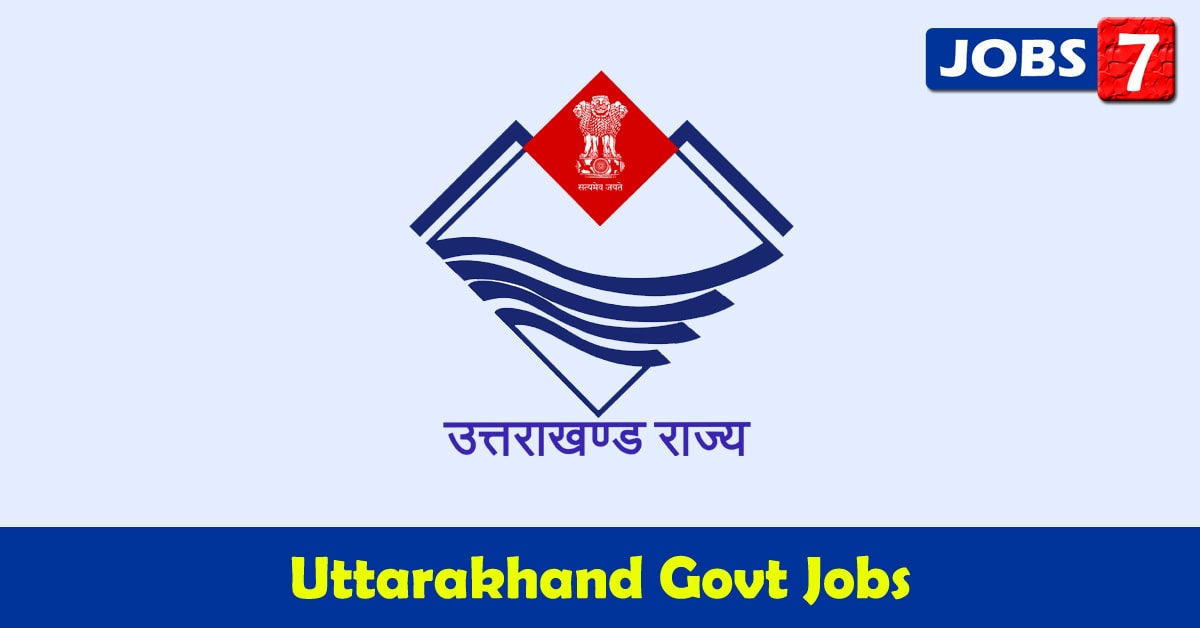 Uttarakhand Govt Jobs 2021 - 4168 Job Vacancies